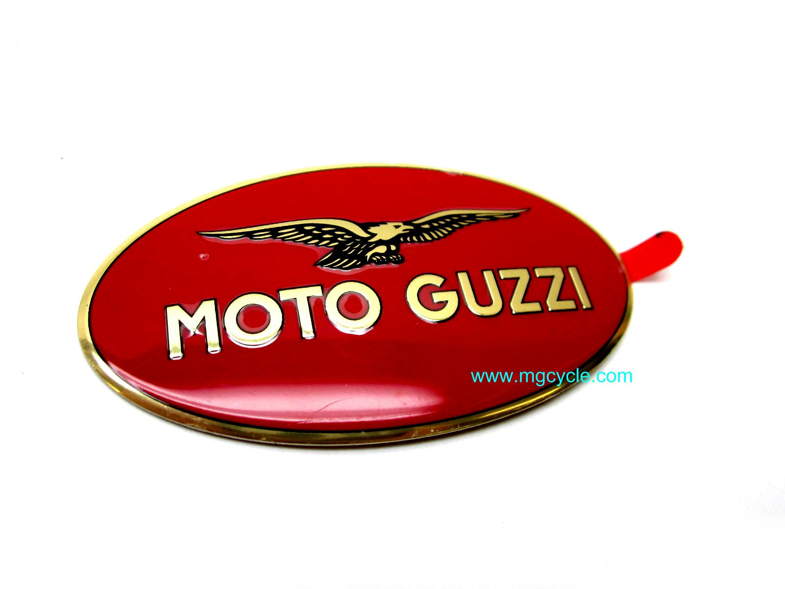 fuel tank emblem, Griso, Norge, Stelvio, Bellagio, right side