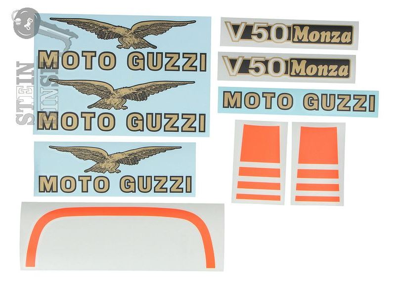 Decal set V50 Monza