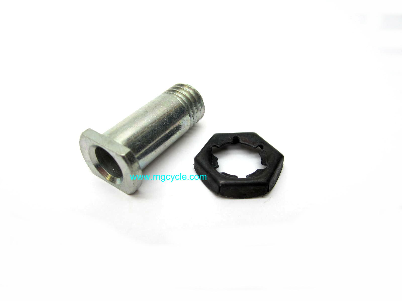 Brake pivot pin and stamped nut, hollow pivot GU27604815
